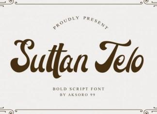 Suttan Telo Font