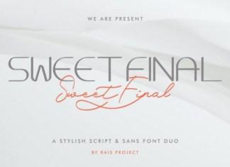Sweet Final Font