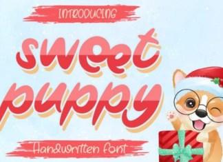 Sweet Puppy Font