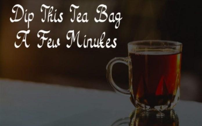 Tea Bag Font