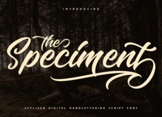 The Speciment Font
