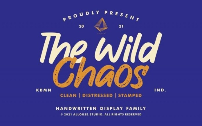 The Wild Chaos Font