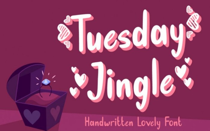 Tuesday Jingle Font