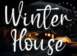 Winter House Font