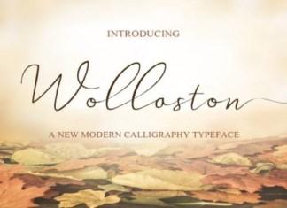 Wollaston Font
