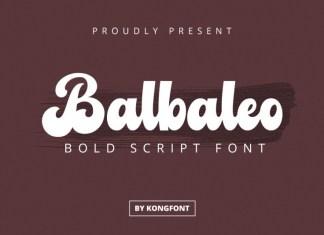 Balbaleo Font