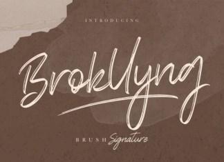 Brokllyng Font