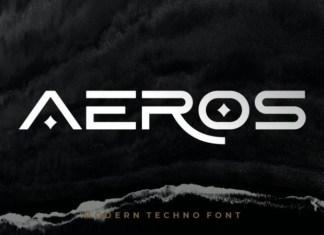 Aeros Font