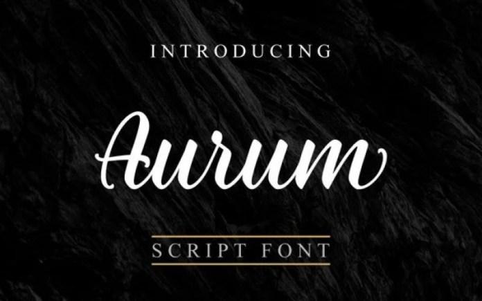 Aurum Font
