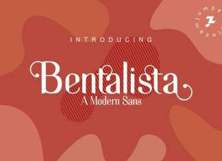 Bentalista Font