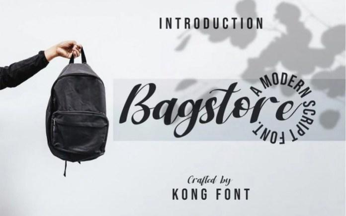 Bagstore Font