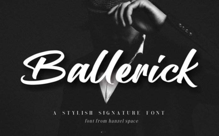Ballerick Font