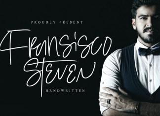 Steven Fransisco Font