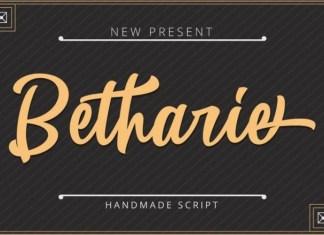 Betharie Font