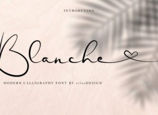 Blanche Font