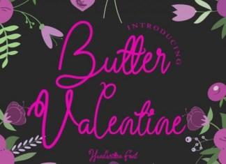 Butter Valentine Font