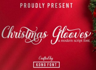 Christmas Glooves Font