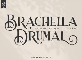 Barchella Drumal Font