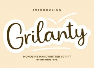 Grilanty Font