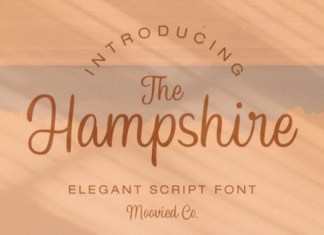 Hampshire Font