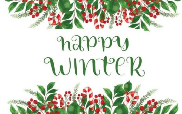 Happy Winter Font