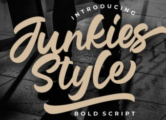 Junkies Style Font