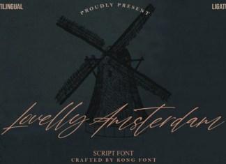 Lovelly Amsterdam Font
