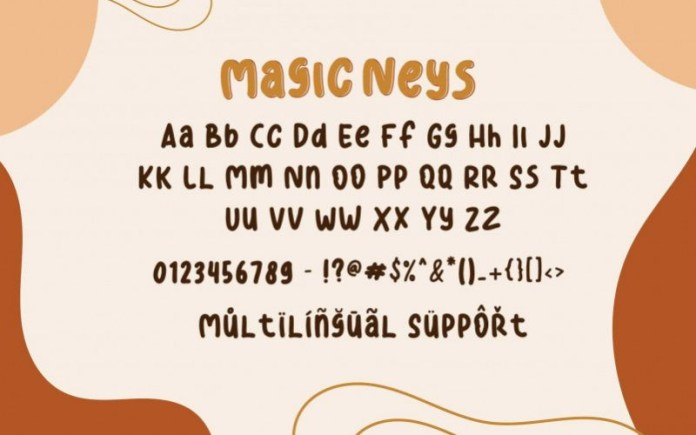 Magic Neys Font