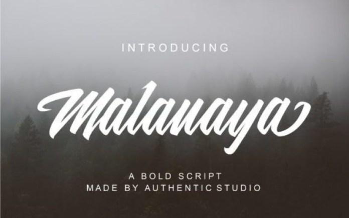 Malanaya Font