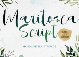 Maritosca Font
