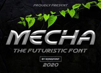 Mecha Font
