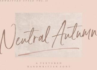 Neutral Autumn Font