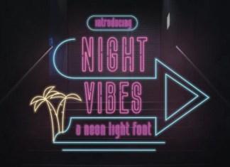 Night Vibes Font