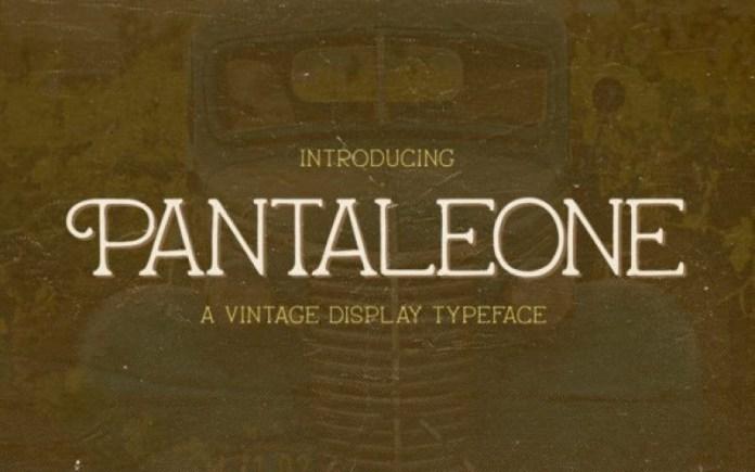 Pantaleone Font