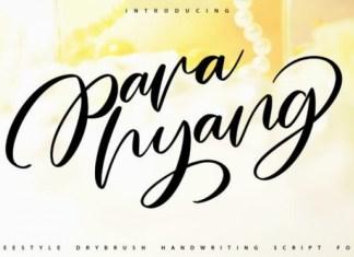 Parahyang Font