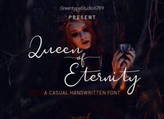 Queen of Eternity Font