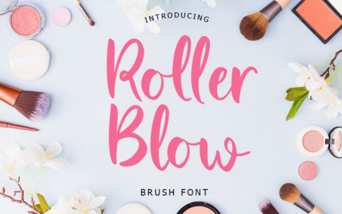 Roller Blow Font
