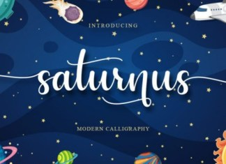 Saturnus Font