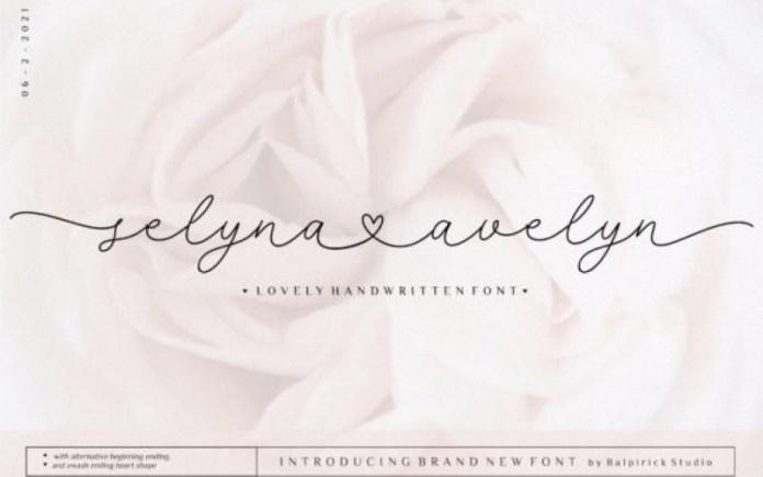 Selyna Avelyn Font