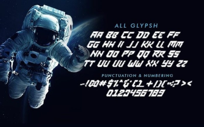 SPACE MISSION Font