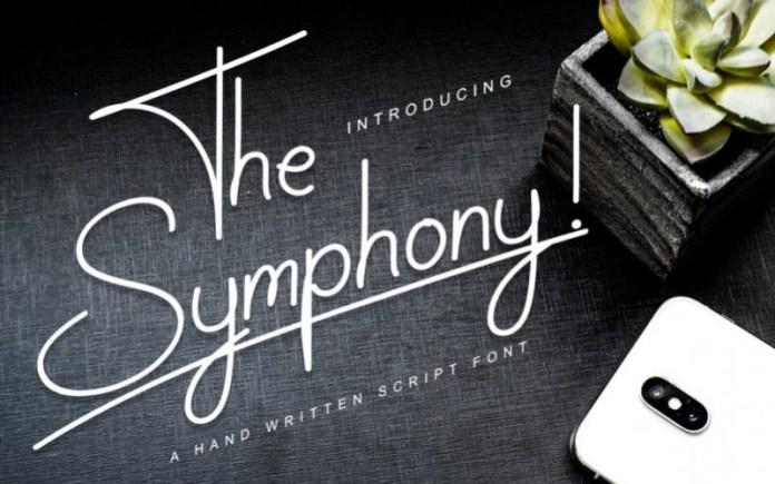 The Symphony Font
