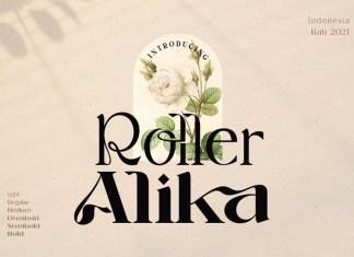 Roller Alika Font