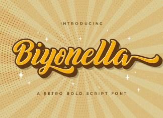 Biyonella Font