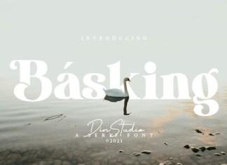 Basking Font