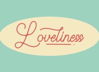 Loveliness Font