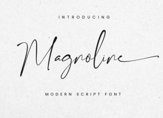 Magnoline Font