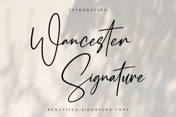 Wancester Signature Font