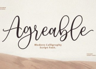 Agreable Font