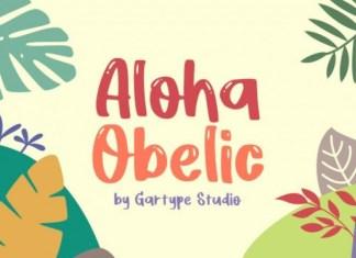 Aloha Obelic Font