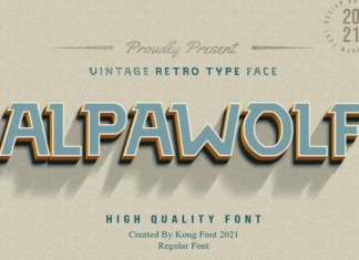 Alpawolf Font